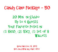 Candy Cane Mini Session - $50