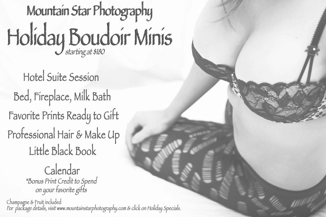 El Paso Boudoir Photographer Mountain Star Photography